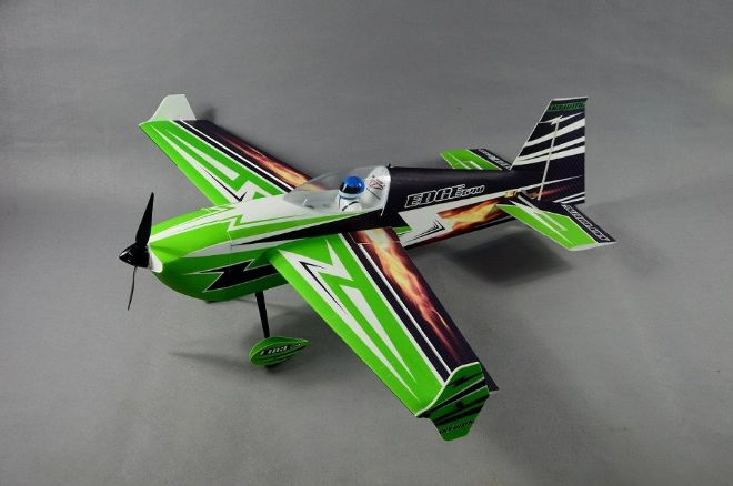 "Skywing 48"" Edge 540 - B in Green, Black and Blue"